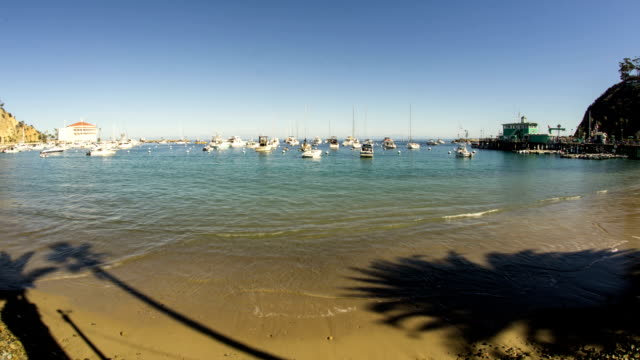 Santa Catalina Island Avalon Harbor Time Lapse video