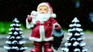 Santa Claus Background Loop 4K video