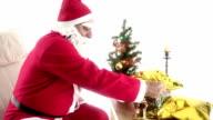 HD : Santa Claus & Bell & Presents video
