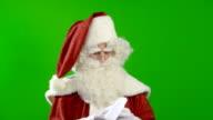 Santa Claus is Amused video