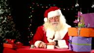 Santa Claus nervous video