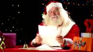 Santa Claus read letters video
