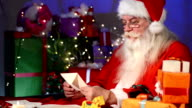 Santa Claus read letters video
