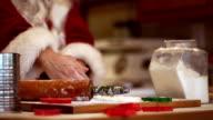Santa Cooking Slow-Mo video