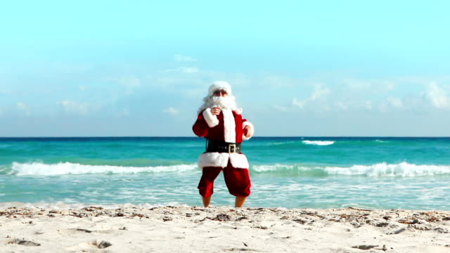 Santa Crazy Beach video