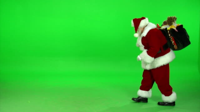 HD Santa Creeping By video