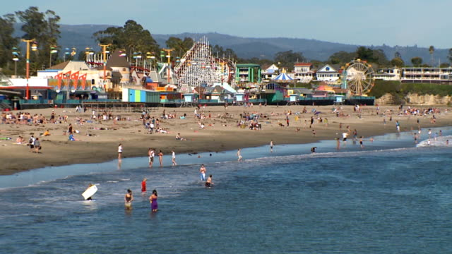 Santa Cruz Beach video