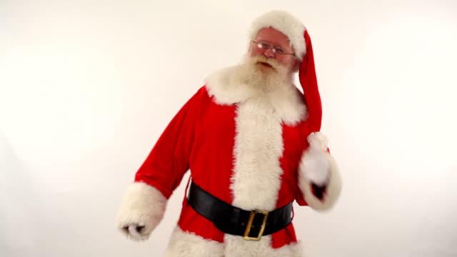 santa dancing video