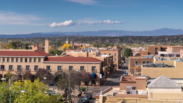 Santa Fe, New Mexico - Time Lapse video