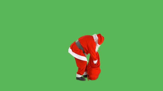 HD: Santa Giving Presents video