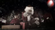 Santa Homeless in NYC video