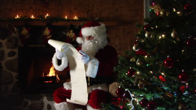 Santa List video