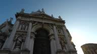 Santa Maria della Salute Church at Venice, Italy video