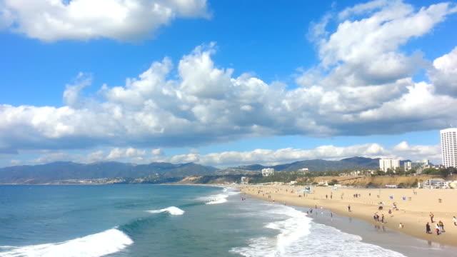 Santa Monica Beach video