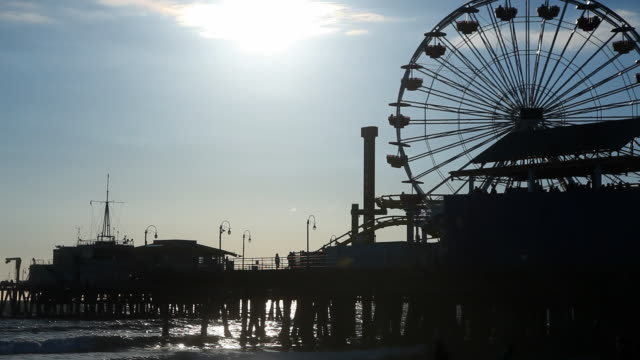 Santa Monica Pier Ferris Wheel video