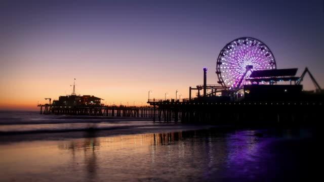 Santa Monica Pier, Los Angeles video
