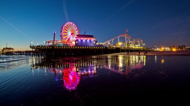 Santa Monica Pier Time Lapse video