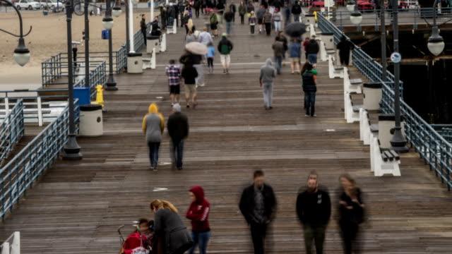 Santa Monica Pier Time Lapse video video