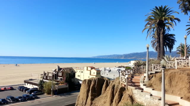 Santa Monica stairs to the beach video