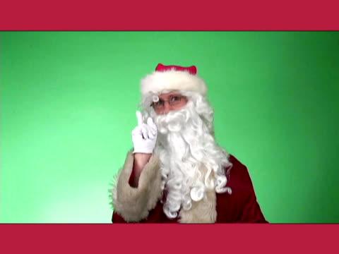 Santa Scolding video