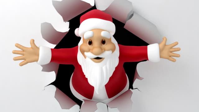 Santa tears paper video