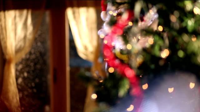 Santa toasting video