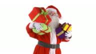 HD: Santa With Presents video