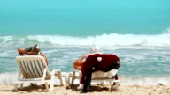 Santas Beach Holiday video