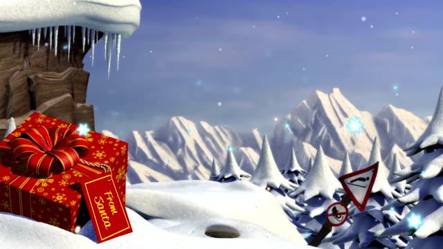 Santa's sleigh jump video
