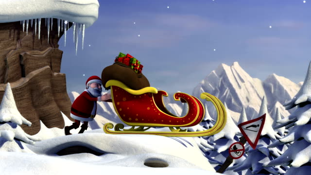 Santa's Take Off video