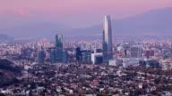 Santiago Timelapse video