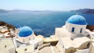 HD: Santorini famous churches video