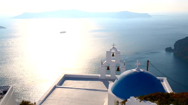 HD: Santorini island, Greece video