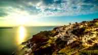 Santorini time-lapse video