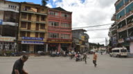 Sapa square, Lao Cai Provice, North Vietnam. video