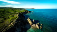 AERIAL: Sardinia Coastline - Italy video