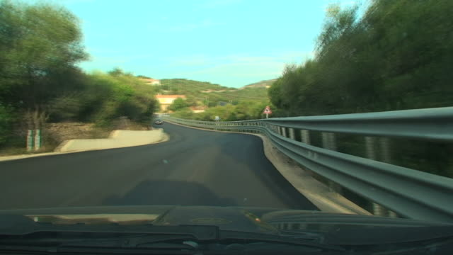 Sardinian background from the car video