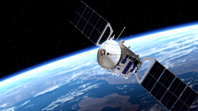 Satellite Deploys Solar Panels video