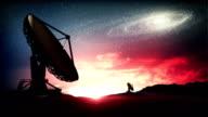 Satellite Dish. video