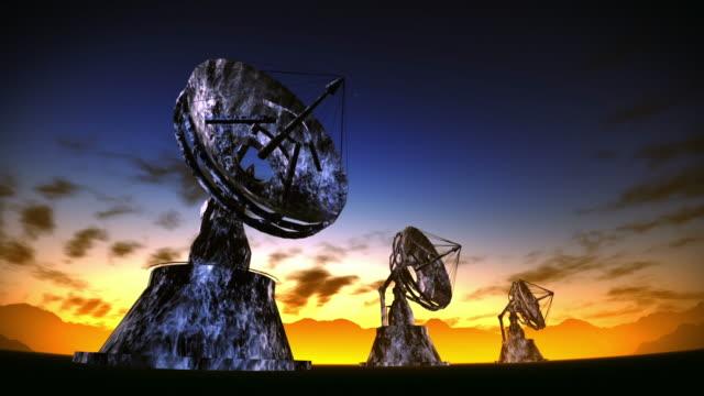 Satellite dishes video