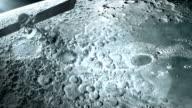Satellite in orbit of the Moon. video