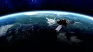 Satellite in Orbit video