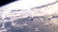 Satellite over Earth video