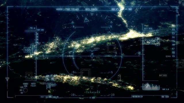 Satellite tracking video