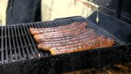 sausage roasting video