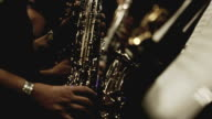Saxophone Players in vintage look video
