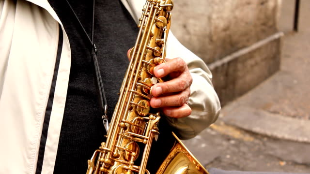Saxophonist (HD) video