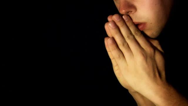 Saying Prayer (HD) video