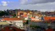 Scale model miniature fake: Lisbon, Portugal video