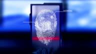 Scanner fingerprint video